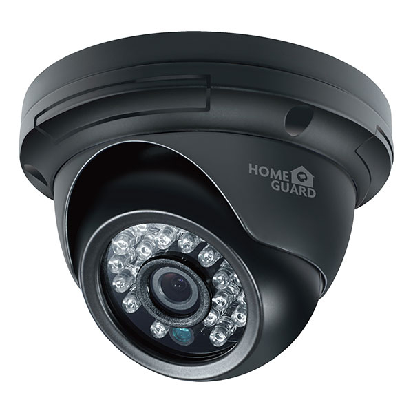 Camera de supraveghere HOMEGUARD Dome CCTV HGPRO729, HD 720p, negru