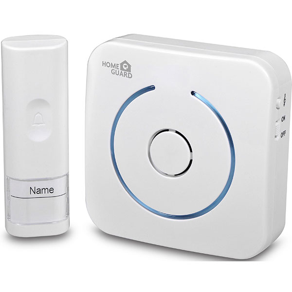 Sonerie Wireless pentru usa HOMEGUARD, HGWDC530, alb