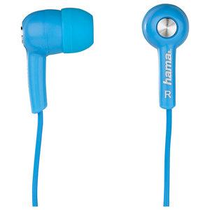 Casti HAMA HK2103, Cu Fir, In-Ear, albastru