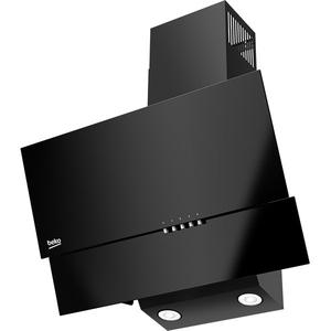 Hota decorativa inclinata BEKO HCA62320B, 310 m3/h, 1 motor, negru