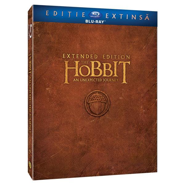 Hobbitul - O calatorie neasteptata - Versiune extinsa Blu-ray