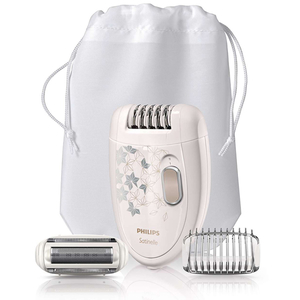Epilator PHILIPS Satinelle HP6423/00, retea, alb