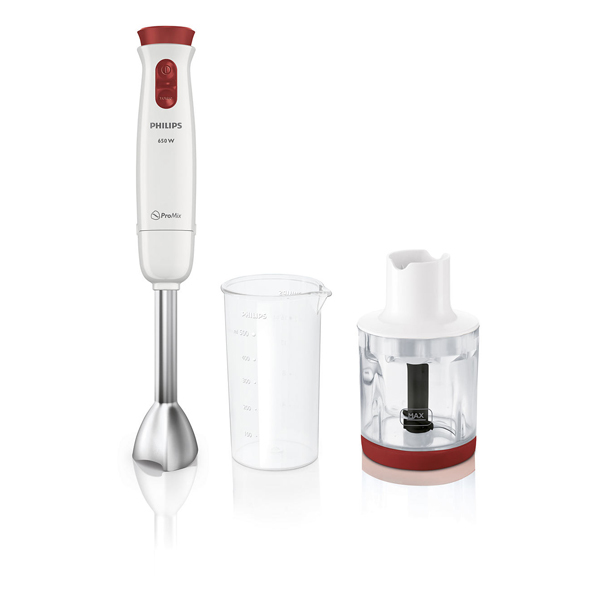 Mixer vertical PHILIPS Daily Collection HR1623/00, 0.5l, 650W, 2 trepte viteza, alb