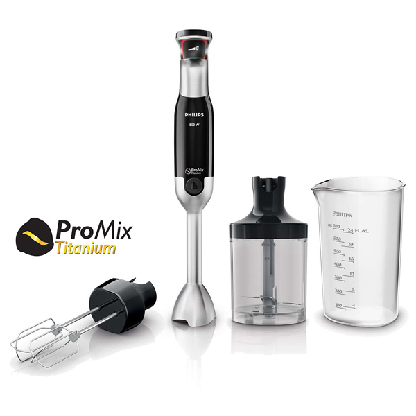 Mixer vertical PHILIPS Avance Collection HR1674/90, 800W, negru