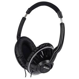 Casti audio cu microfon A4Tech HS-780, 3.5mm, negru