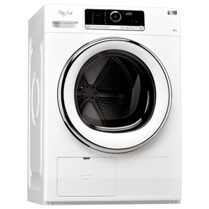 Uscator de rufe WHIRLPOOL Supreme Dryer HSCX 80420, 8kg, A++, alb