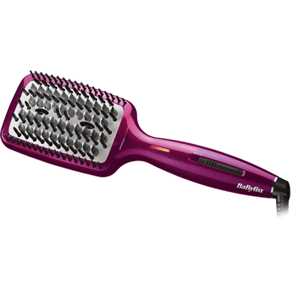 Perie electrica BABYLISS Liss Brush 3D, ionizare, roz