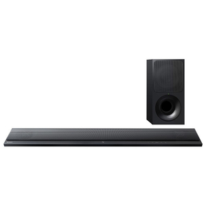 Soundbar slim 2.1 SONY HT-CT390, 300W, Bluetooth, NFC, Wi-Fi, negru