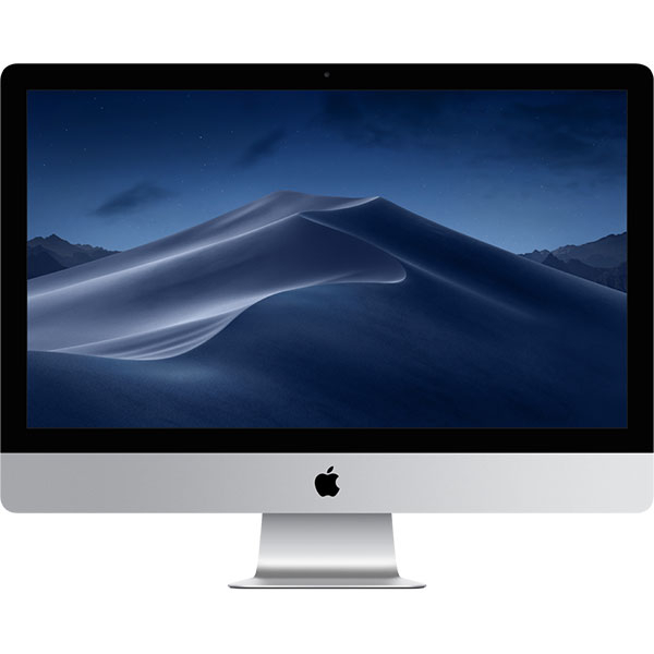 "Sistem PC All in One APPLE iMac mrr12ro/a, 27"" Retina 5K Display, Intel Core i5 pana la 4.6 GHz, 8GB, 2TB Fusion Drive, Radeon Pro 580X 8GB, macOS Mojave, Tastatura layout RO"