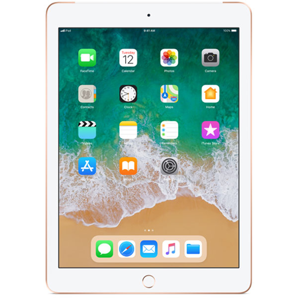 "Tableta APPLE iPad 6 (2018), 9.7"", 128GB, 2GB RAM, Wi-Fi + 4G, Gold"