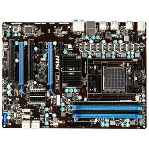 Placa de baza MSI 970A-G43, 970, DualDDR3-1866, 6xSATA3, RAID, GBLAN, ATX, 970A-G43