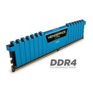 Memorie desktop Corssair Vengeance LPX Blue, 16GB (4x4GB) DDR4, 2133MHz, CL13, CMK16GX4M4A2133C13B
