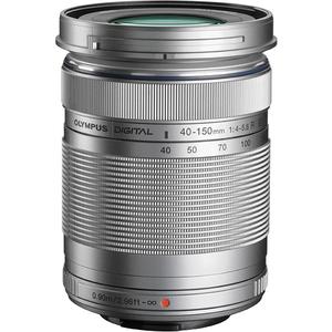 Obiectiv OLYMPUS M.ZUIKO DIGITAL ED 40‑150 mm, F4‑5.6 R, argintiu