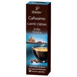 TCHIBO Cafissimo Caffe Crema India Sirisha, 10 buc