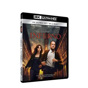 Inferno (2016) 4K UHD (2 Discs) Blu-ray