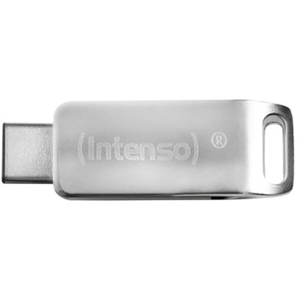 Memorie portabila INTENSO cMOBILE line 3536490, 64GB, USB 3.0 & TypeC, argintiu