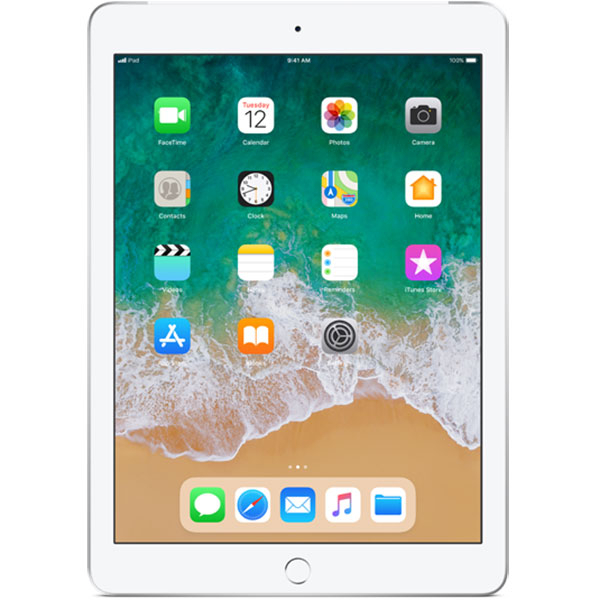 "Tableta iPad 6 (2018) 9.7"" APPLE Wi-Fi + 4G 128GB Silver"