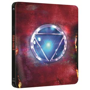 Omul de otel 3 Blu-ray 2D/3D SteelBook