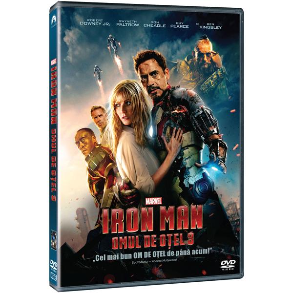 Omul de otel 3 DVD