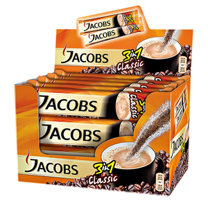 Cafea solubila JACOBS 3in1 Clasic 4032045, 24 x 15.2g