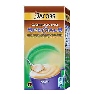Cafea instant JACOBS Cappuccino Hazelnut 4031924, 8 x 18gr