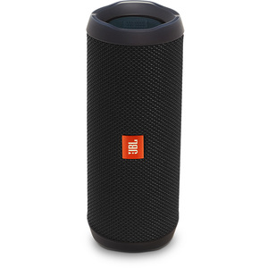 Boxa portabila JBL Flip 4, Bluetooth, Bass Radiator, Waterproof, negru