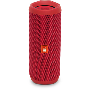 Boxa portabila JBL Flip 4, Bluetooth, Bass Radiator, Waterproof, rosu