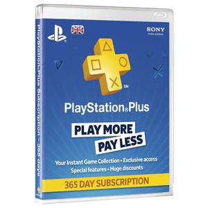 PlayStation Plus Membership (365 de zile) UK  PS4