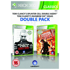 Tom Clancy's Double Pack - Splinter Cell Double Agent & Rainbow Six Vegas Xbox 360