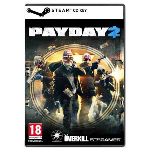 PayDay 2 CD Key - Cod Steam