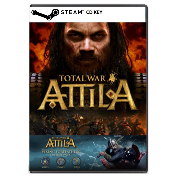 Total War: Attila (inc. Viking Forefathers Culture Pack) CD Key - Cod Steam