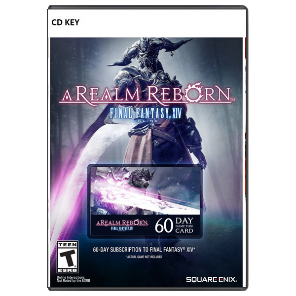 Final Fantasy XIV: A Realm Reborn 60-day time card CD Key - Official Website