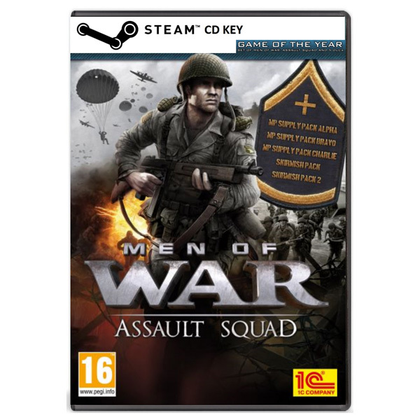 Men of War: Assault Squad - Game of the Year CD Key - Cod Steam