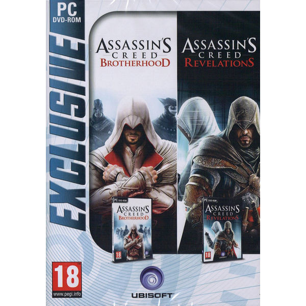 Compilation Assassin's Creed - Revelations & Assassin's Creed - Brotherhood PC