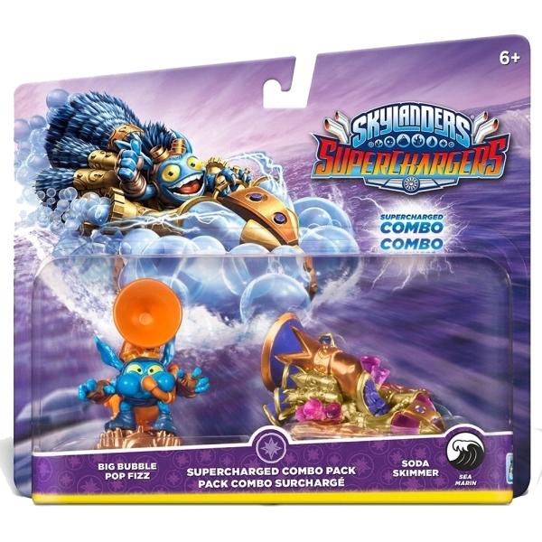 Set figurine Skylanders Superchargers dual pack 3