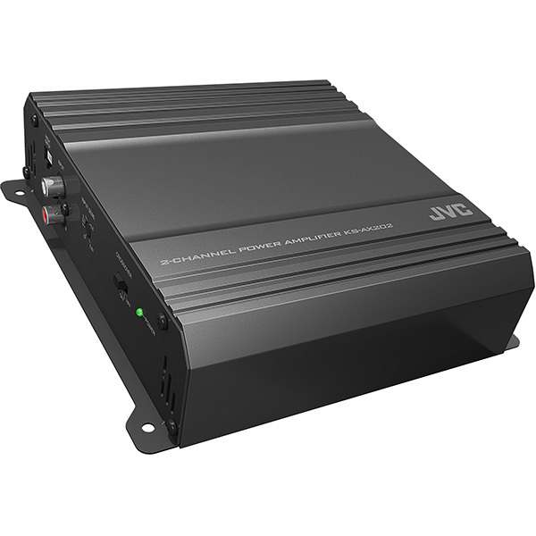 Amplificator auto JVC KS-AX202, 2 canale, 300W, negru