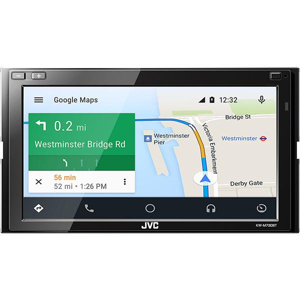 Media receiver auto JVC KW-M730BT, 4x50W, 2DIN, Android