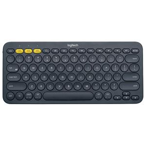 Tastatura Wireless LOGITECH K380, Bluetooth, Layout US INT, gri