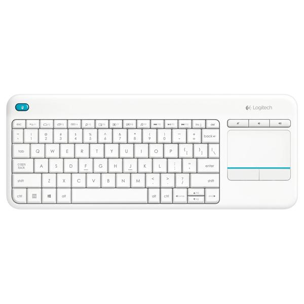 c3d3f5afdff Tastatura Wireless LOGITECH Touch K400 Plus, USB, Layout US INT, alb