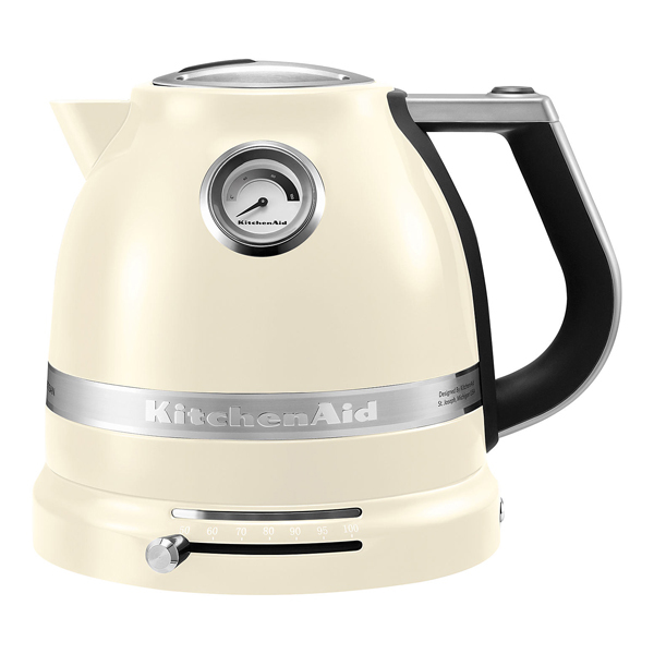 Fierbator de apa KITCHENAID Artisan KIT-5KEK1522EAC, 1.5l, 2400W, almond cream