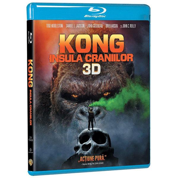 Kong: Insula craniilor Blu-ray 3D