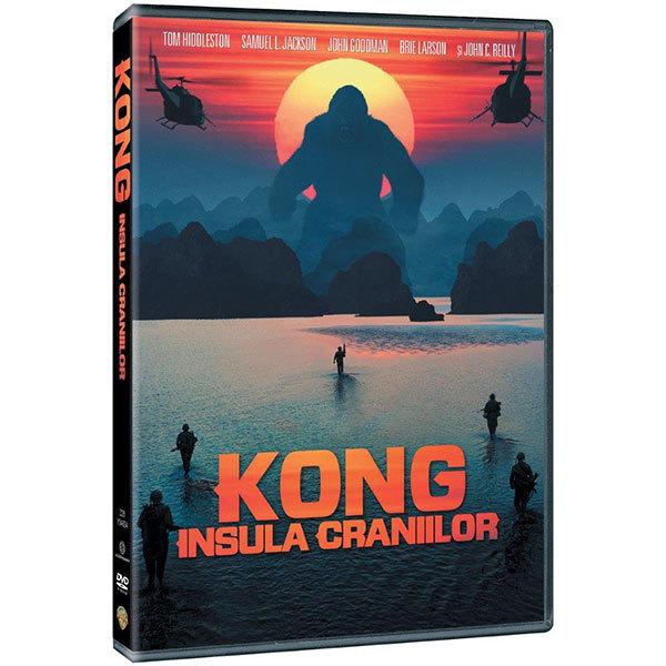 Kong: Insula craniilor DVD