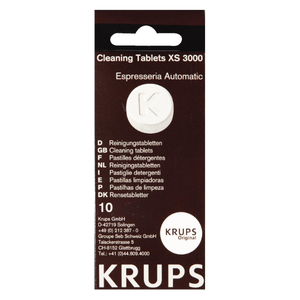 Tablete anticalcar KRUPS XS3000, 10 x tablete