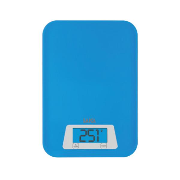 Cantar de bucatarie LAICA KS1023, electronic, 3Kg, albastru