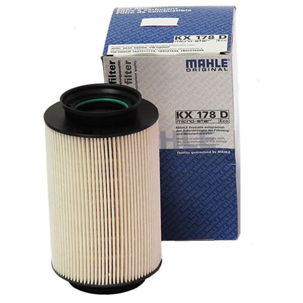 Filtru motorina MAHLE KX178D pentru VW/Audi/Seat/Skoda