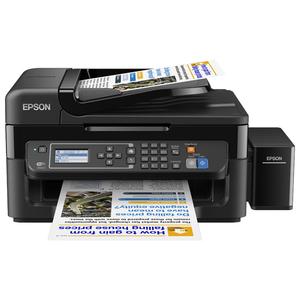 Multifunctional inkjet color EPSON L565 CISS, A4, USB, Wi-Fi, Retea