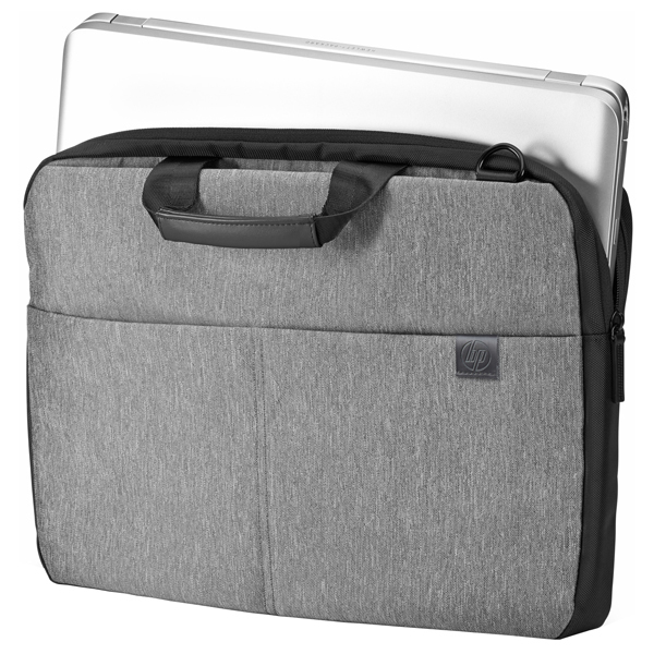 """Geanta laptop HP Signature Slim L6V68AA, 15.6"""", gri-negru"""