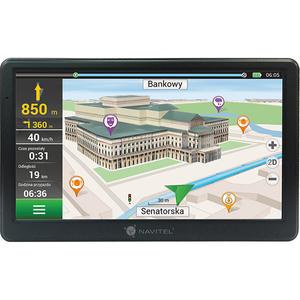 "Sistem de navigatie GPS NAVITEL E700, 7"", Europa, Lifetime, negru"