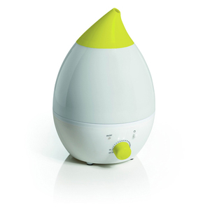 Umidificator de aer cu abur rece LAICA Baby Line HI3012, 1.3l, 150 ml/h, 15W, alb - verde