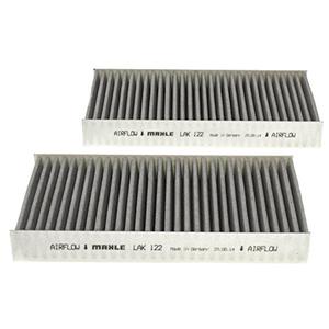 Set filtre habitaclu din carbon activ MAHLE pentru Honda Civic 7, 2001 - 2005
